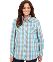 Roper - Plus Size 0190 Ombre Dobby Plaid