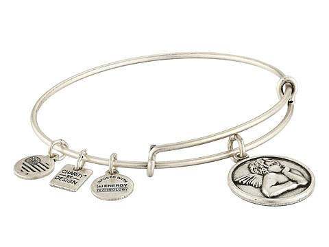 Alex and Ani Charity by Design - Cherub Expandable Charm Bangle Bracelet - Rafaelian Silver