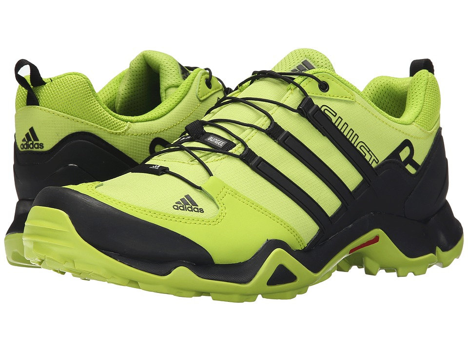 adidas Outdoor - Terrex Swift R (Semi Solar Slime/Core Black/Chalk White) Men