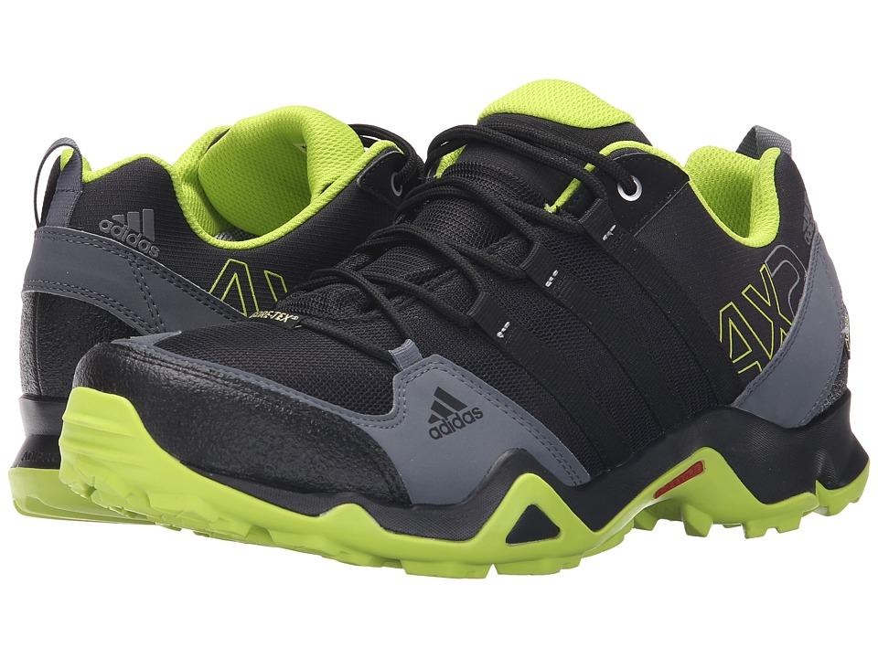 adidas Outdoor adidas Outdoor AX 2 GTX Black/Semi Solar Slime/Onix Mens Shoes