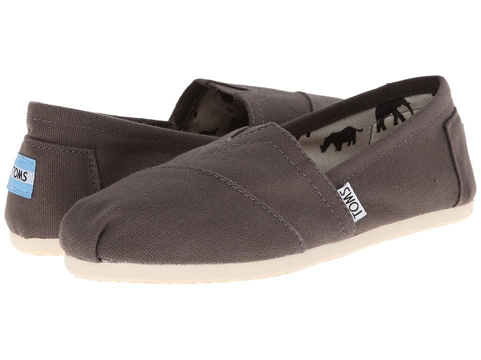 TOMS Classics (Ash Canvas) Slip-On Shoes