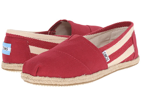 TOMS University Classics - Red Stripe