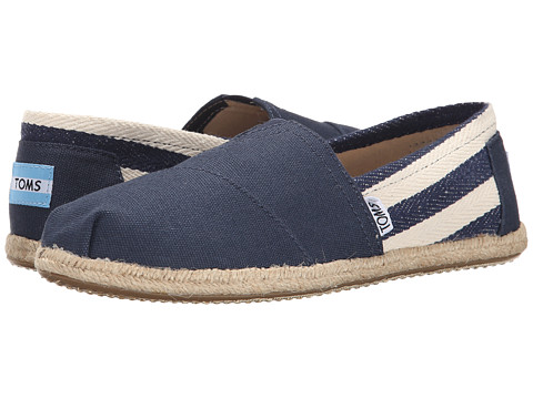 TOMS University Classics - Navy Stripe