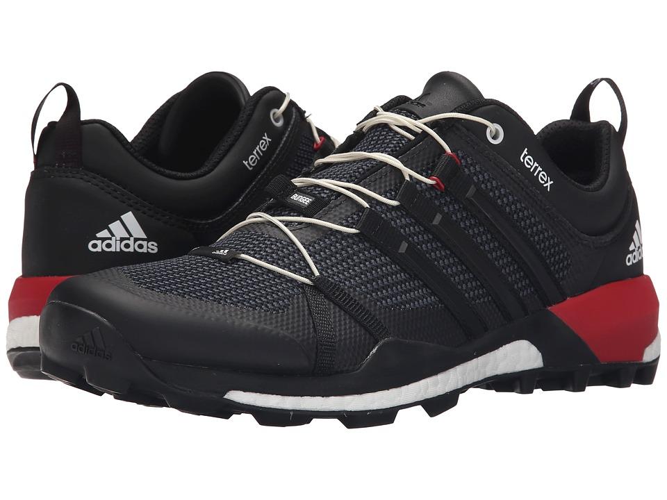 adidas Outdoor - Terrex Skychaser (Black/Dark Grey/Power Red) Men