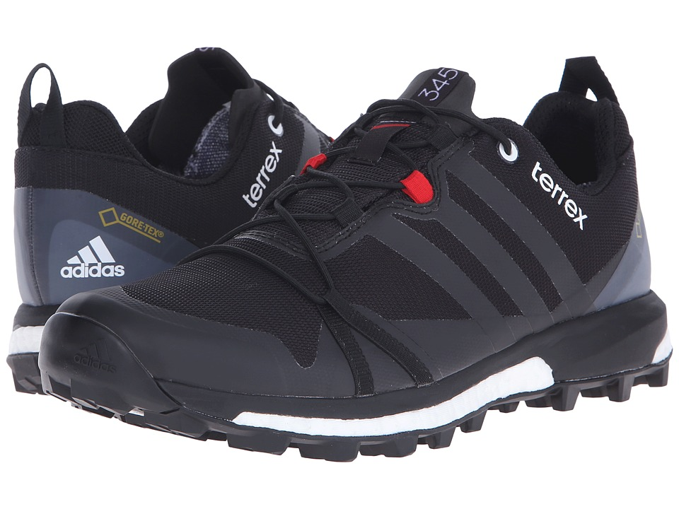 adidas Outdoor - Terrex Agravic GTX (Black/Power Red/White) Men