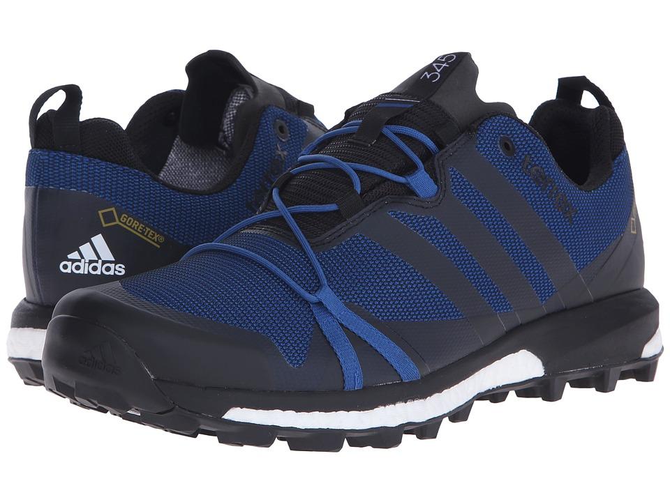 adidas Outdoor - Terrex Agravic GTX (EQT Blue/Black/White) Men