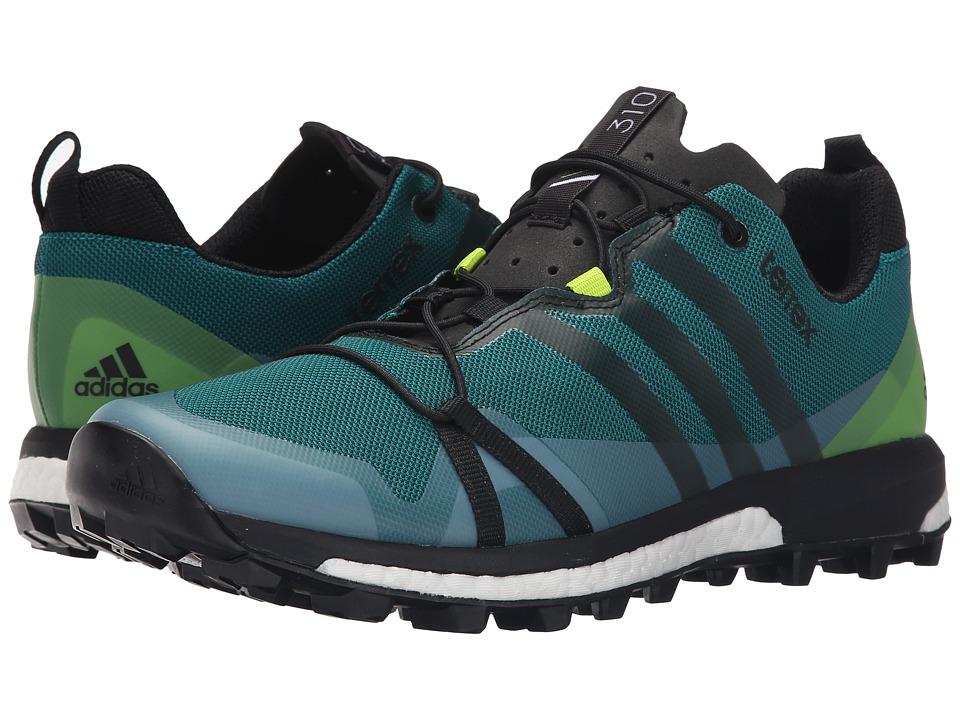 adidas Outdoor - Terrex Agravic (EQT Green/Black/Semi Solar Slime) Men