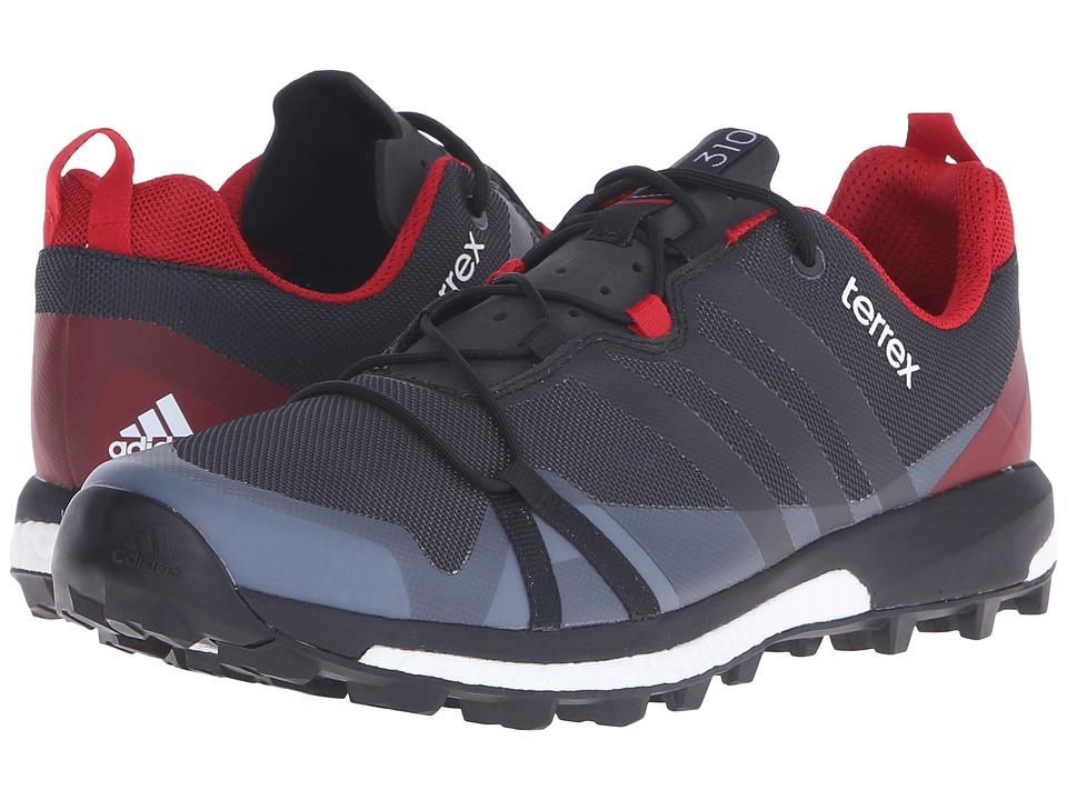adidas Outdoor - Terrex Agravic (Dark Grey/Black/Power Red) Men