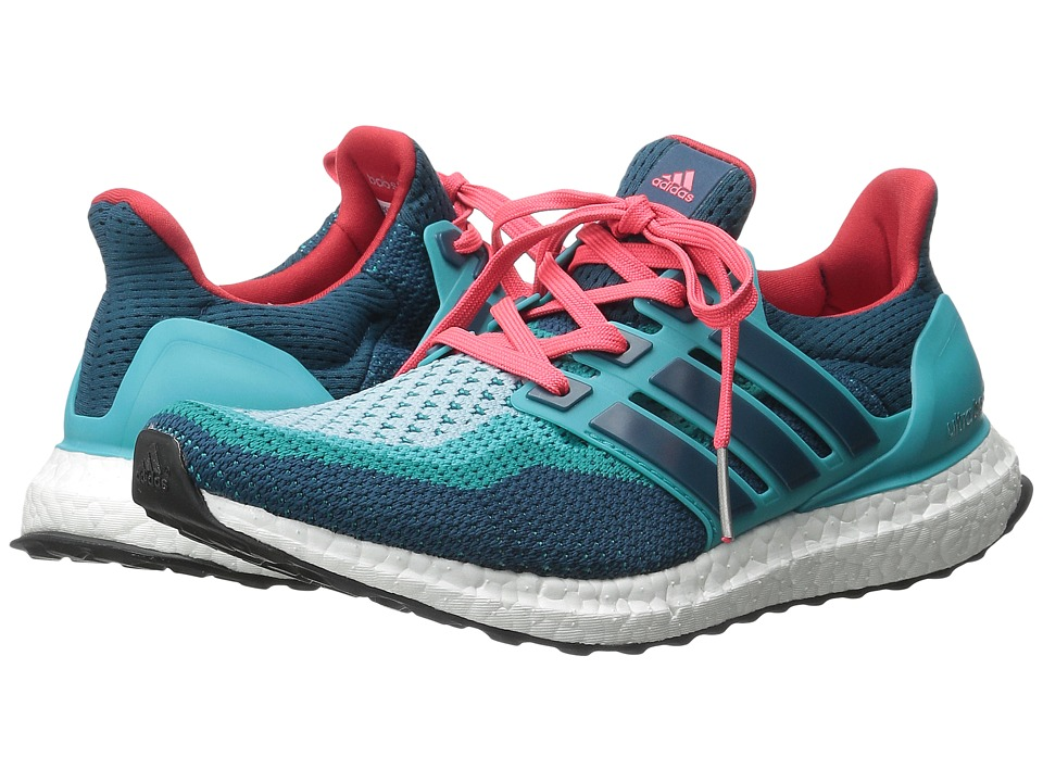 adidas Running Ultra Boost M Clear Green/Mineral/Shock Red Mens Running Shoes