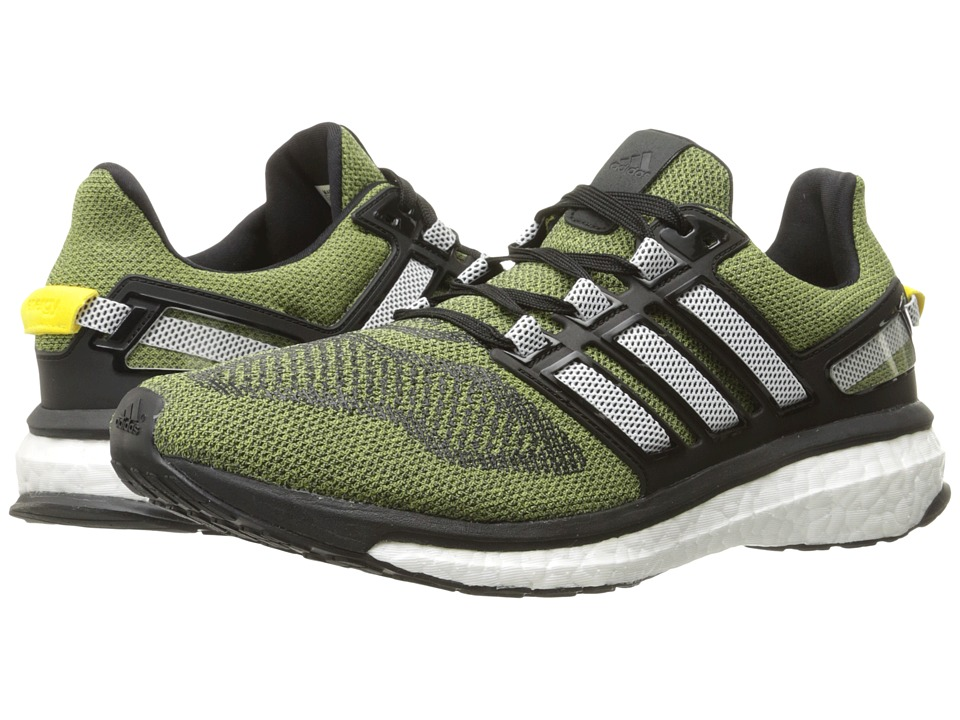adidas Running Energy Boost 3 Shock Yellow/White/Black Mens Running Shoes