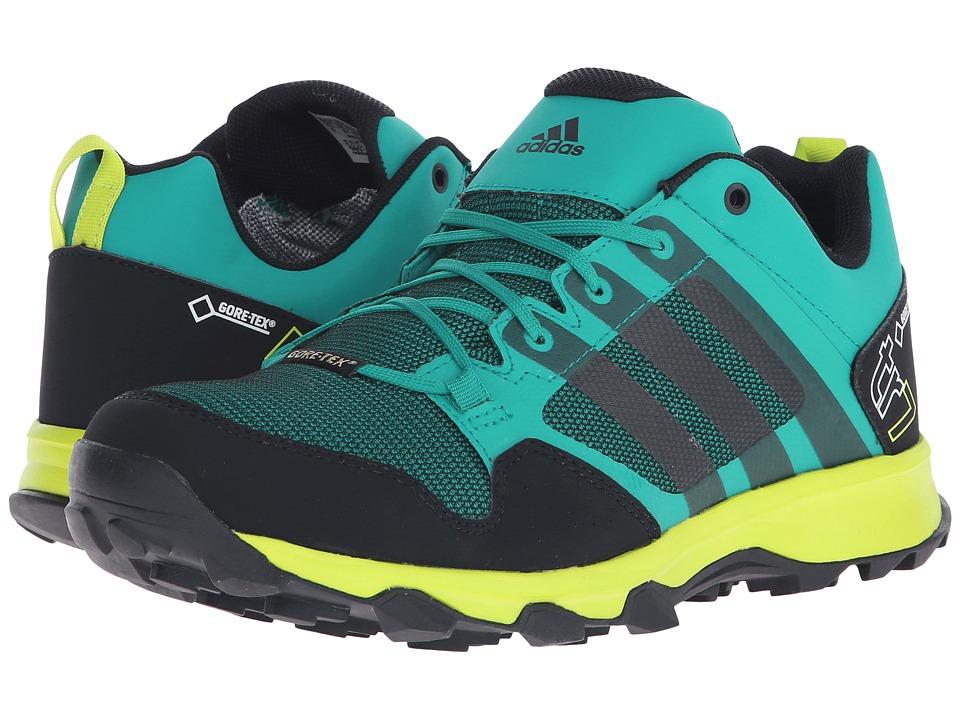 adidas Outdoor - Kanadia 7 Trail GTX (EQT Green/Black/Semi Solar Slime) Men