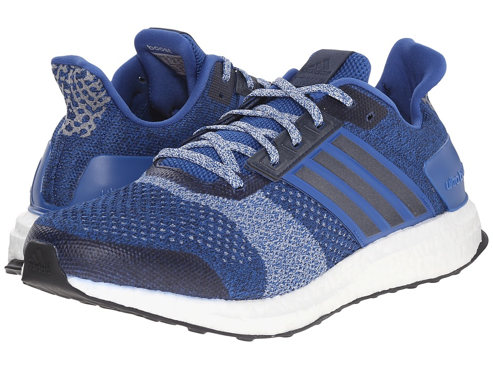 adidas Running Ultra Boost ST EQT Blue/Collegiate Navy/Halo Blue Mens Running Shoes