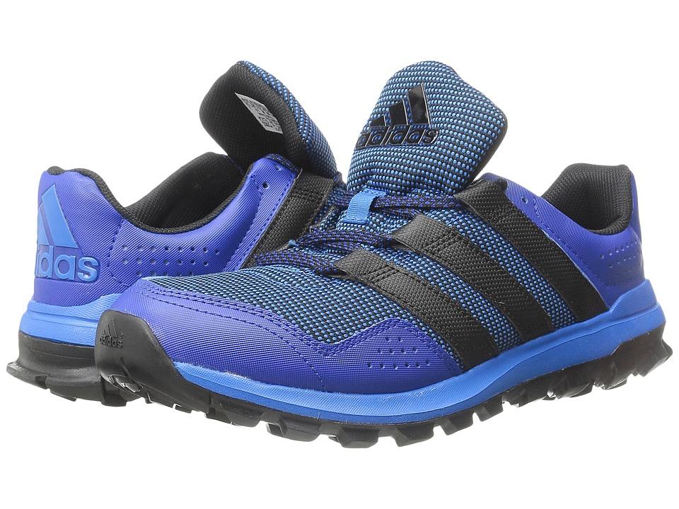 adidas Running Slingshot Trail Shock Blue/Black/Collegiate Royal Mens Shoes