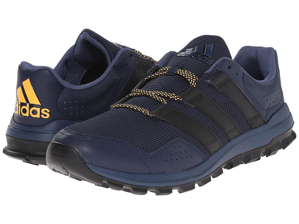 adidas Running Slingshot Trail Collegiate Navy/Black/Solar Gold Mens Shoes