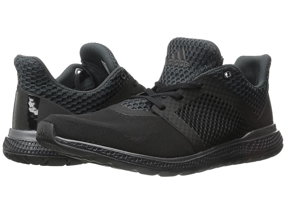 adidas Running Energy Bounce 2 Black/Iron Metallic Mens Running Shoes