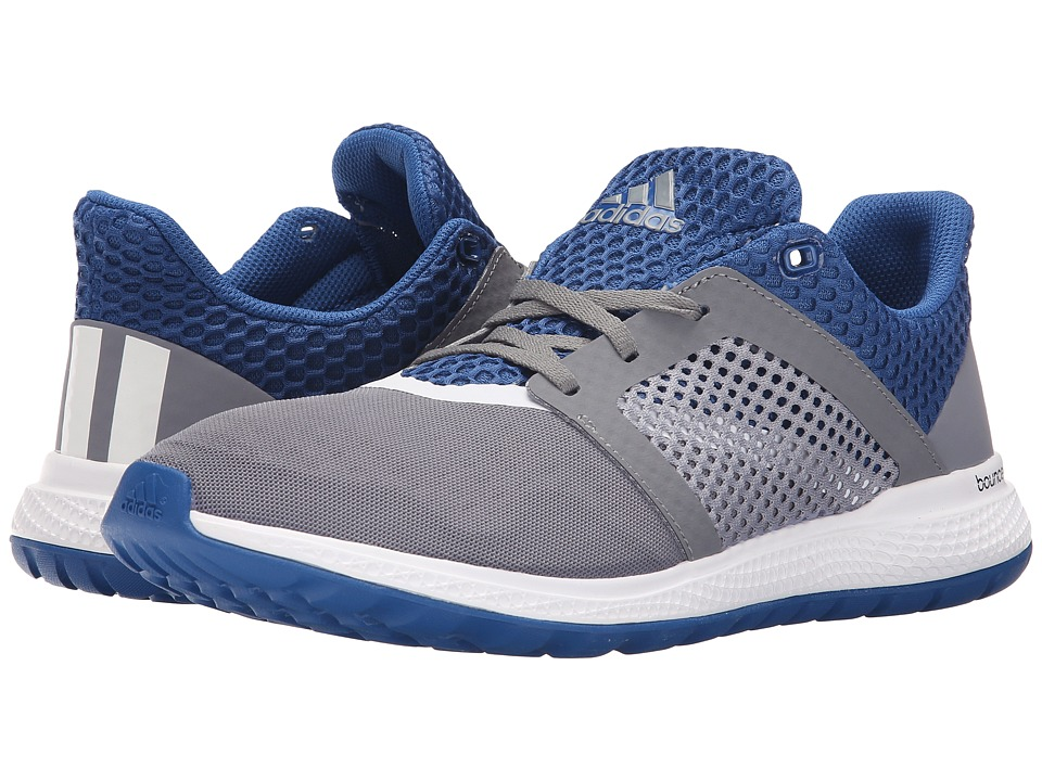 adidas Running Energy Bounce 2 Grey/White/EQT Blue Mens Running Shoes