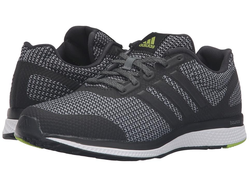adidas Running Mana Bounce Black/Vista Grey/Chalk White Mens Running Shoes