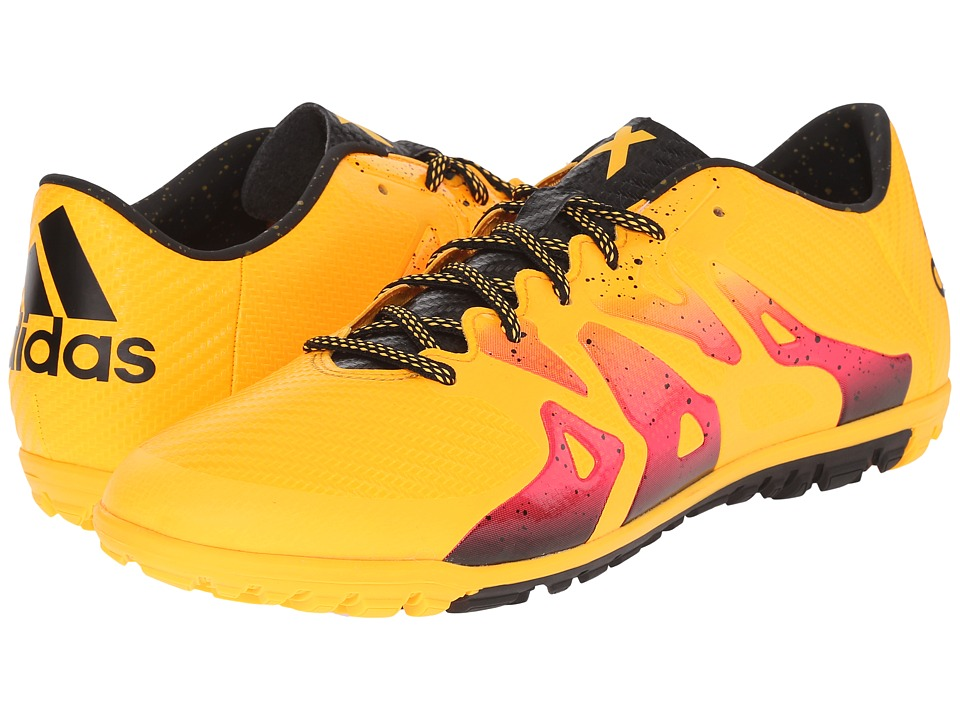 adidas X 15.3 TF Solar Gold/Black/Shock Pink Mens Soccer Shoes