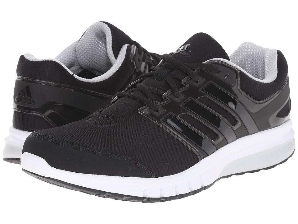 adidas Running Galaxy Elite 2 Black/Clear Grey Mens Running Shoes
