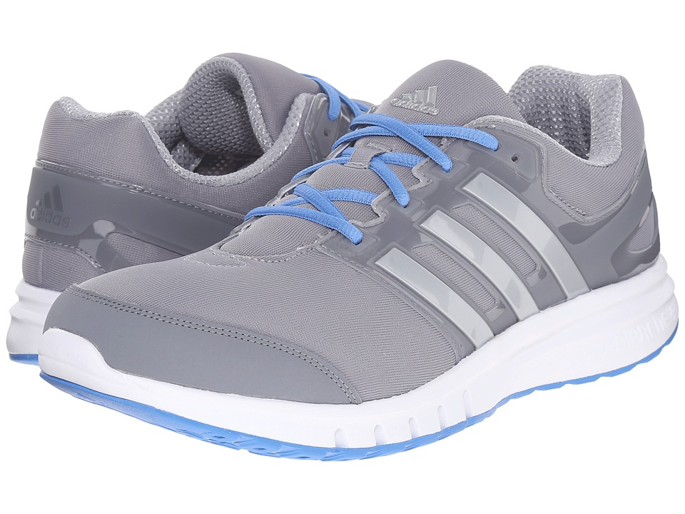 adidas Running Galaxy Elite 2 Mid Grey/Silver Metallic/Super Blue Mens Running Shoes