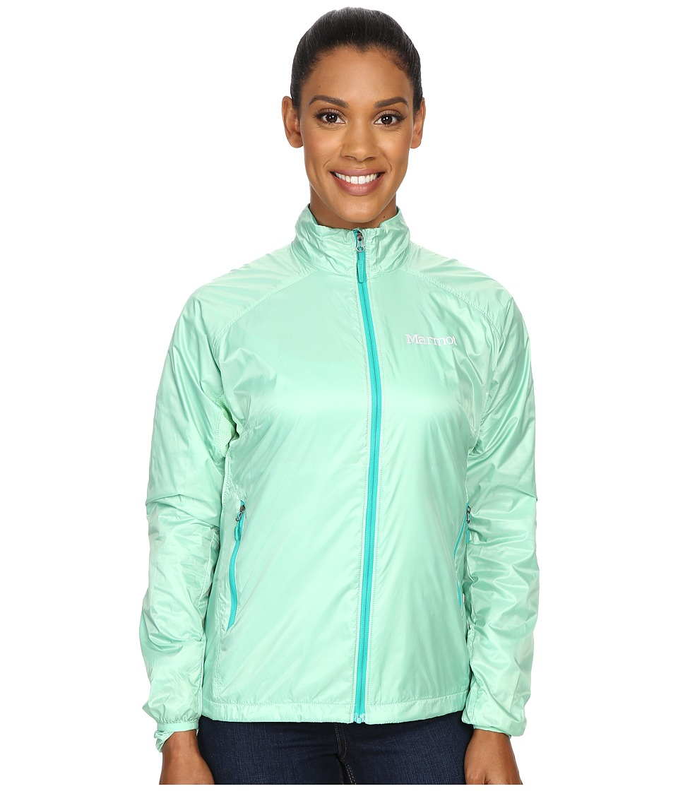 Marmot Ether DriClime Jacket Green Frost Womens Coat