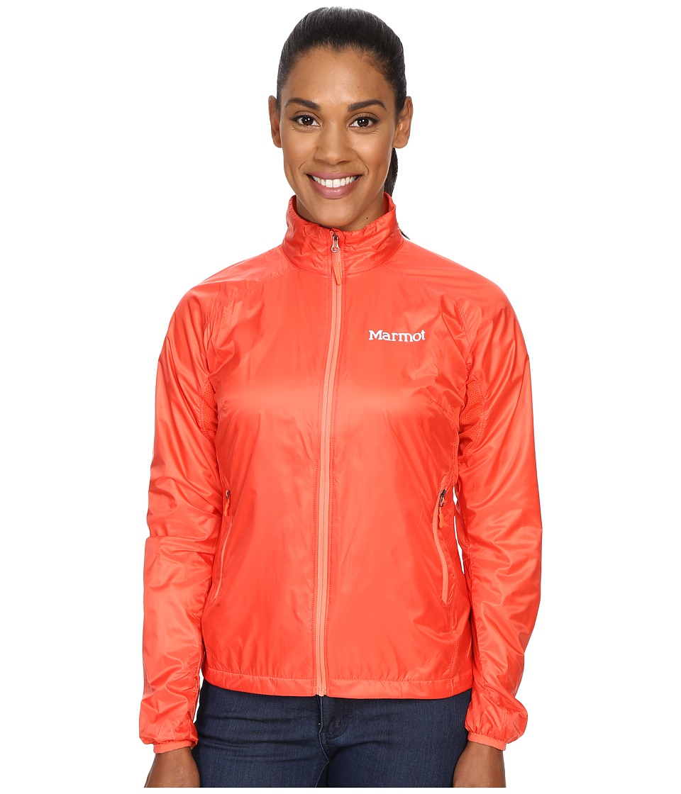 Marmot Ether DriClime Jacket Red Apple Womens Coat