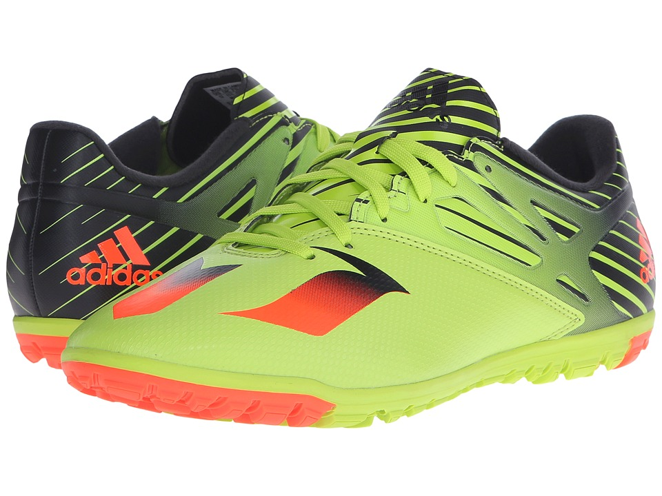 adidas Messi 15.3 TF Semi Solar Slime/Solar Red/Black Mens Shoes