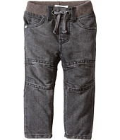 Pumpkin Patch Kids - Street Warrior Rib Waist Knee Panel Denim Jeans (Infant/Toddler/Little Kids)