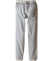 Pumpkin Patch Kids - Wheel Life Side Stripes Fleece Trackpants (Little Kids/Big Kids)