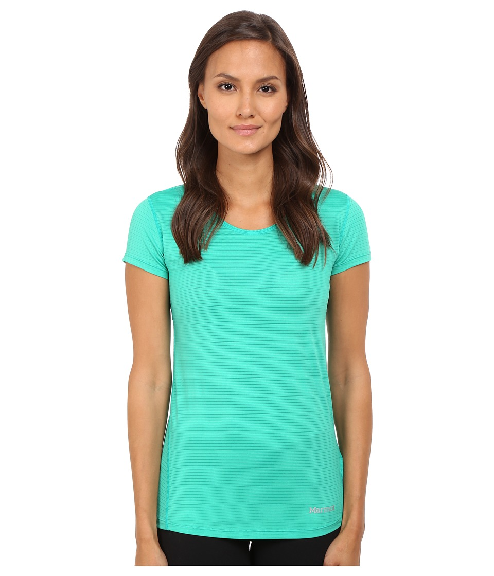 Marmot - Aero Short Sleeve (Gem Green) Women