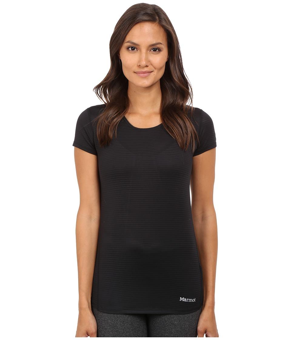 Marmot - Aero Short Sleeve (Black) Womens T Shirt
