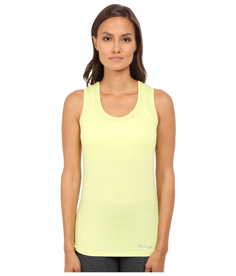 Marmot Aero Tank Top Citrus Ice Womens Sleeveless