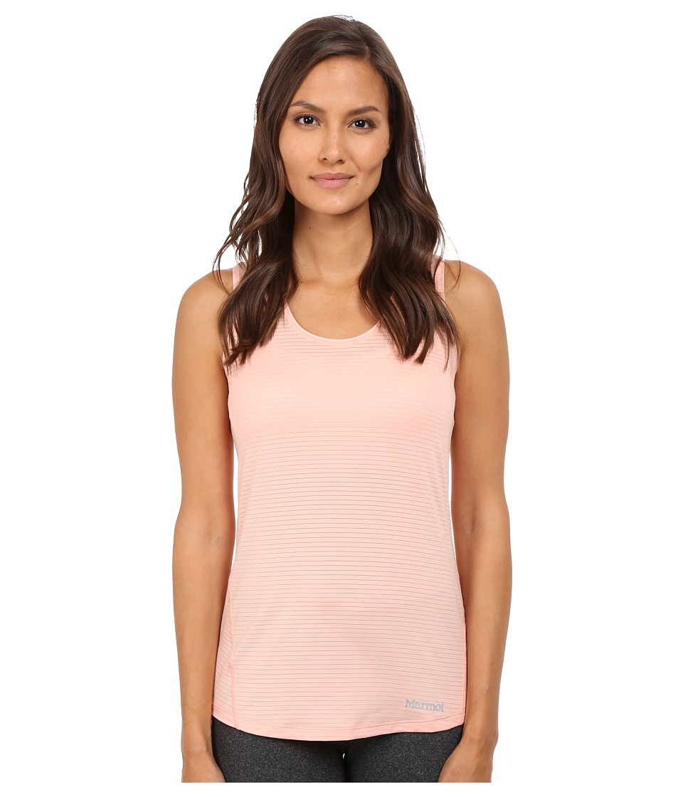 Marmot Aero Tank Top Blush Rose Womens Sleeveless