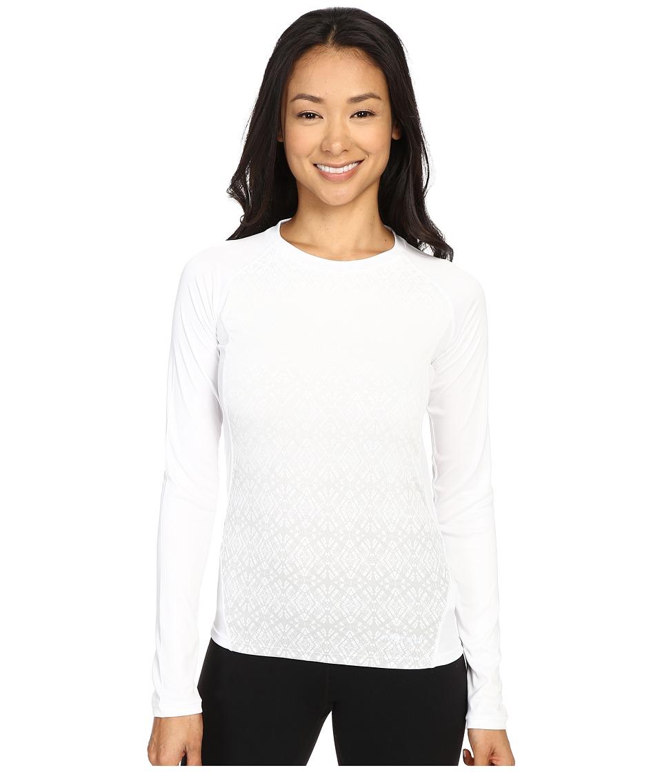 Marmot Crystal Long Sleeve White Womens Long Sleeve Pullover