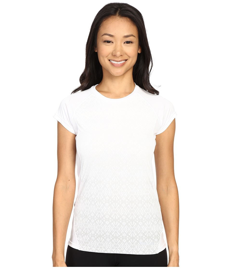 Marmot - Crystal Short Sleeve (White) Women