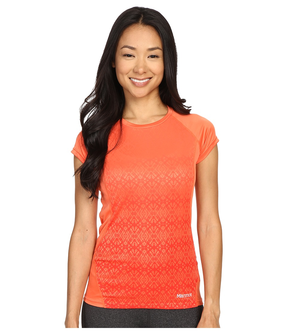 Marmot - Crystal Short Sleeve (Emberglow) Women