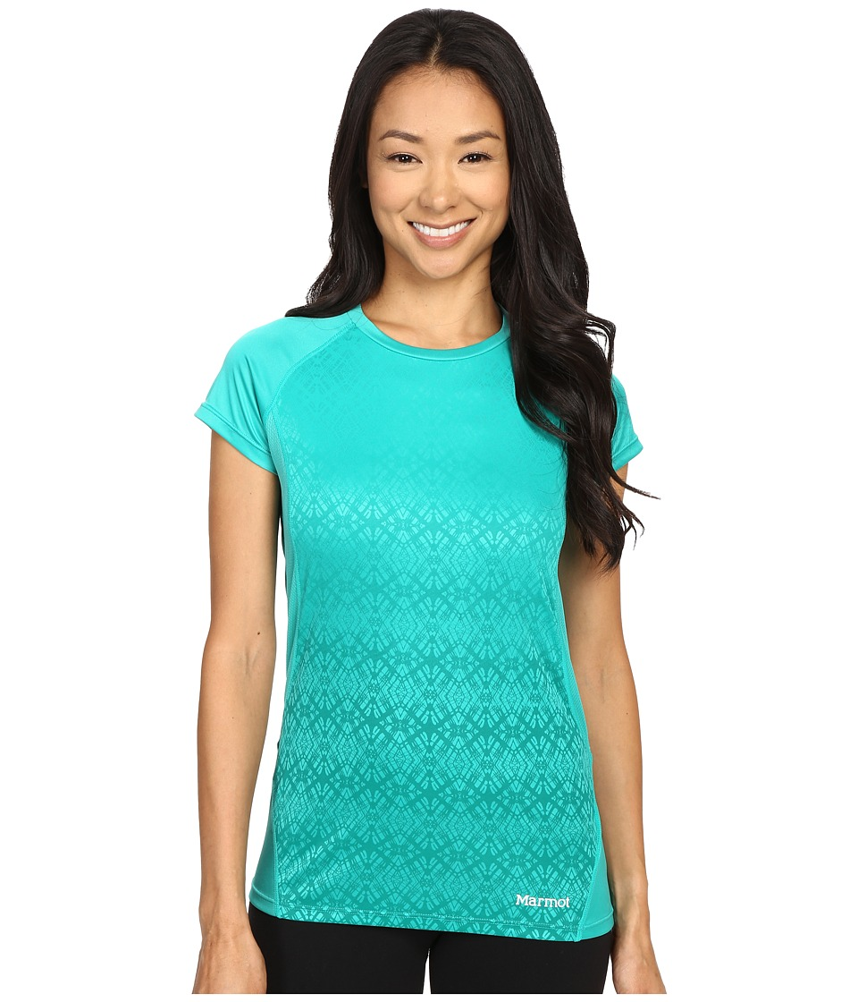 Marmot - Crystal Short Sleeve (Gem Green) Women