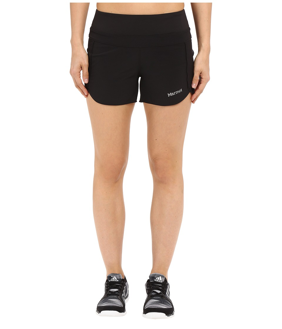 Marmot Circuit Shorts Black Womens Shorts