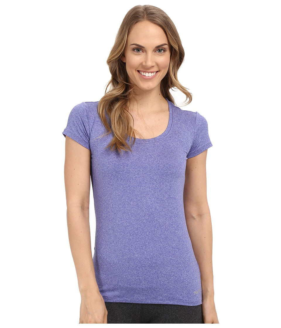 Marmot - All Around Tee S/S (Gemstone Heather) Women