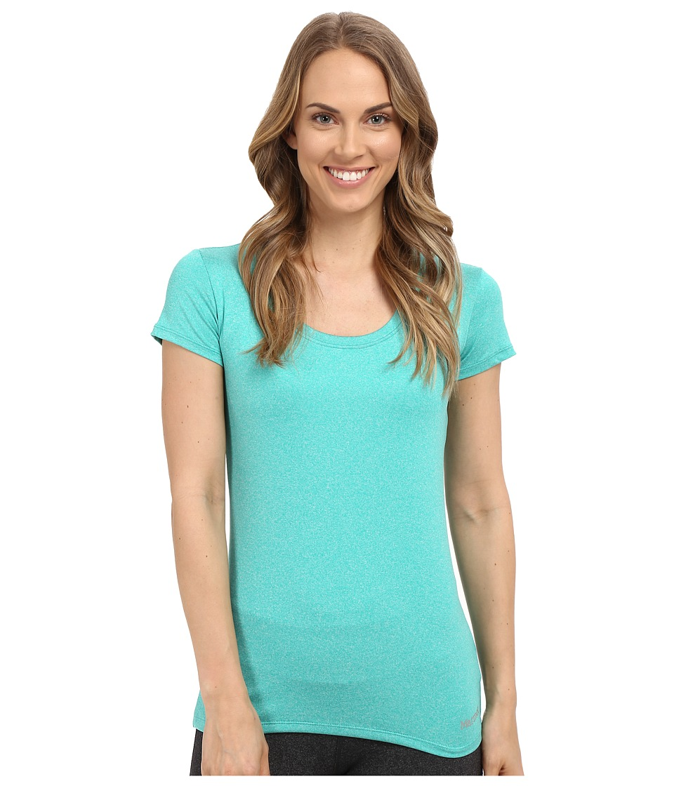 Marmot - All Around Tee S/S (Gem Green Heather) Women