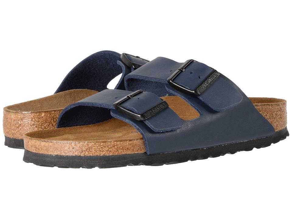 Birkenstock - Arizona Soft Footbed (Navy Birko-Flortm) Sa...