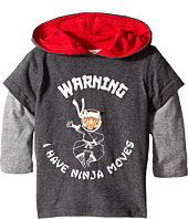 Pumpkin Patch Kids - Street Warrior Ninja Picture Insert Tee (Infant/Toddler/Little Kids)