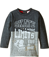 Pumpkin Patch Kids - Street Warrior Spliced Long Sleeve Tee (Infant/Toddler/Little Kids)