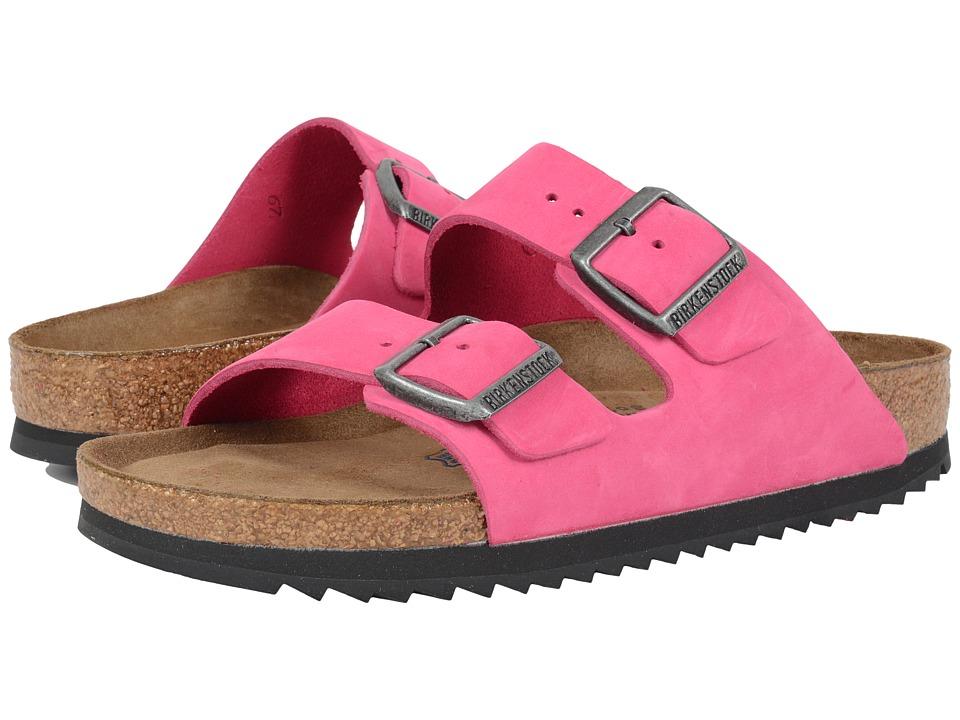 Birkenstock - Arizona Soft Footbed (Pink Nubuck) Women