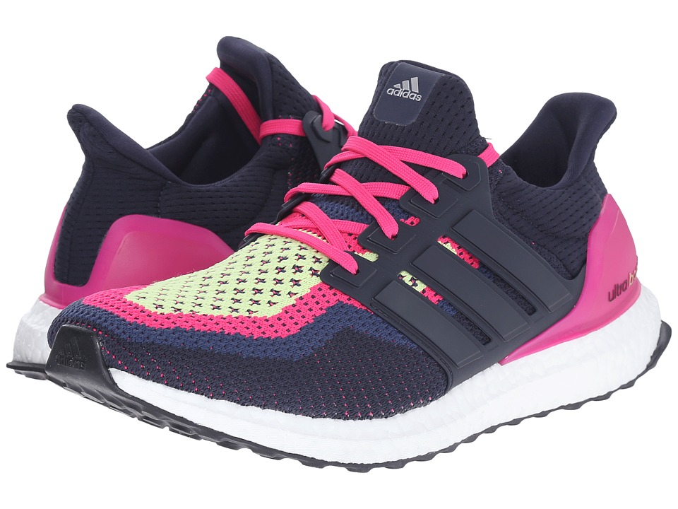 adidas Running Ultra Boost W Night Navy/EQT Pink Womens Running Shoes