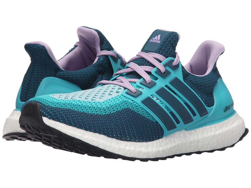 adidas Running Ultra Boost W Clear Green/Mineral/Purple Glow Womens Running Shoes