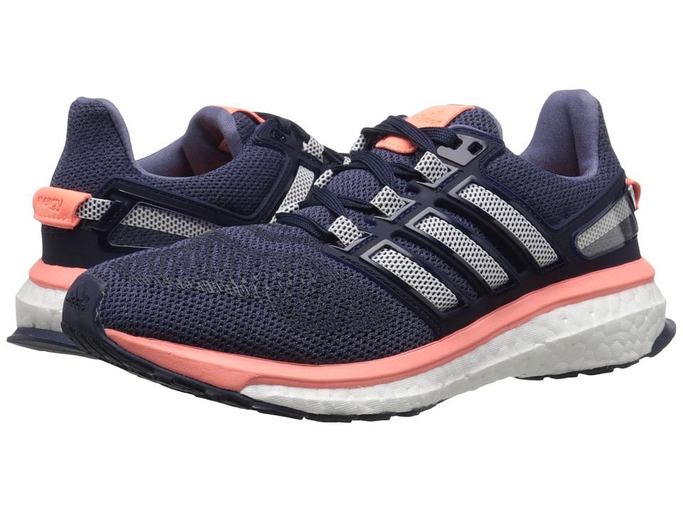 adidas Running Energy Boost 3 W Super Purple/White/Sun Glow Womens Running Shoes