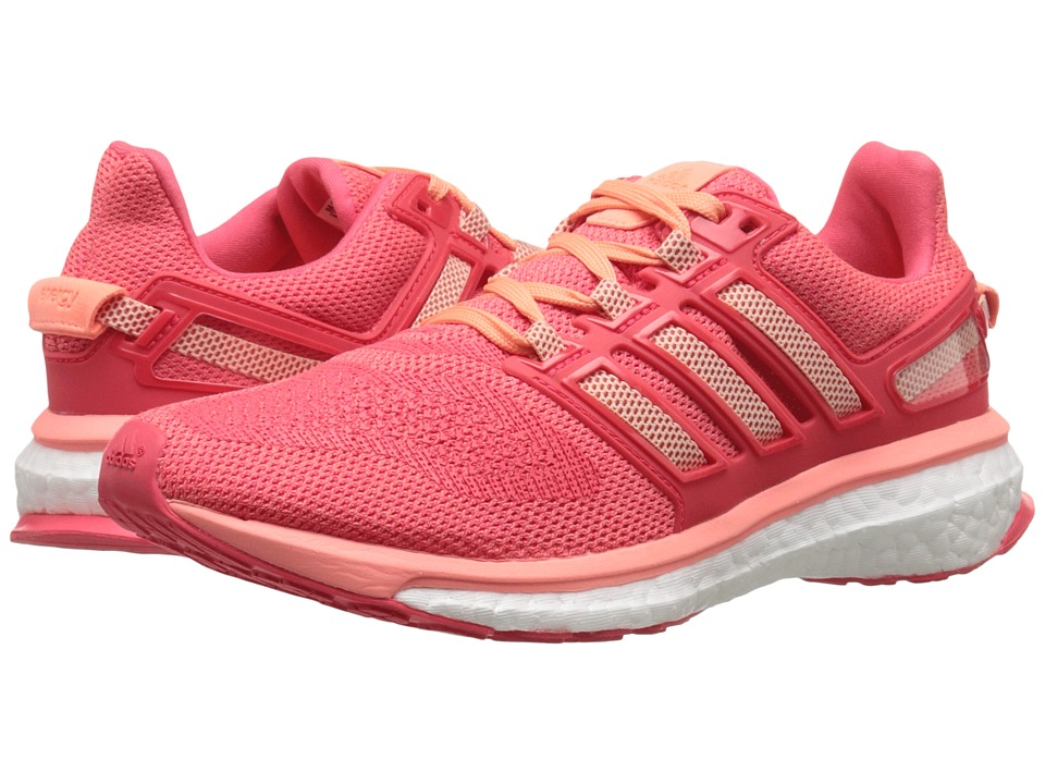 adidas Running Energy Boost 3 W Sun Glow/Halo Pink/Shock Red Womens Running Shoes