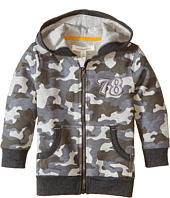 Pumpkin Patch Kids - Street Warrior Camo Print Zip-Up Sweater (Infant/Toddler/Little Kids)