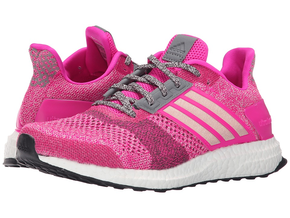 adidas Running Ultra Boost ST W Shock Pink/Halo Pink/Mineral Red Womens Running Shoes